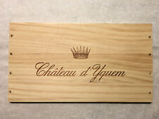 New listing 1 Rare Wine Wood Panel Château d'Yquem Vintage Crate Box Side 7/20 87