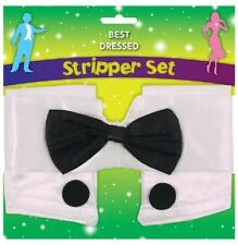 Mens Instant Stripper Erotic Stag Hen Night Party Fancy Dress Costume Outfit Kit