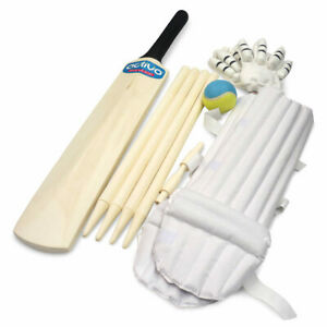 Complete Cricket Set Size 3- Everything packs into the bag, take it to the park