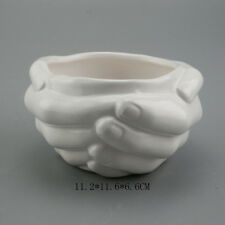 JM holding cup with hands mold for ceramics silicone molds for planter silicone