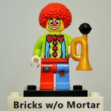 New Genuine LEGO Circus Clown Minifig with Horn Series 1 8683