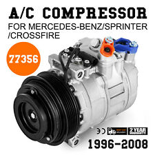 AC Compressor For Mercedes-Benz Dodge Sprinter Crossfire (2 Year Warranty)77356
