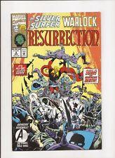Silver Surfer / Warlock: Resurrection #2 - Marvel 1993 - NM 9.4