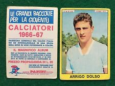 CALCIATORI 1966/67 66/1967 LAZIO Arrigo DOLSO Figurina Sticker Panini (NEW)