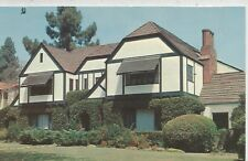 Beverly Hills CA Home Of James Stewart Postcard 1950s