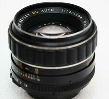 PORST COLOR REFLEX MC AUTO 50mm f1,4 - M42 mount lens made in Japan