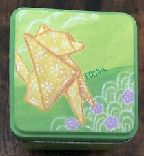 2004 Fossil Watch Origami Dog Collector's Tin AWESOME!
