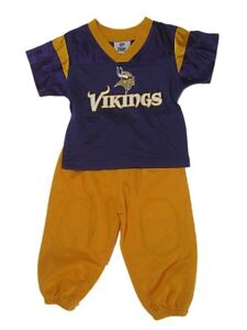NFL Infant Minnesota Vikings Outfit 12 Months Boys Nylon Sweatsuit Baby