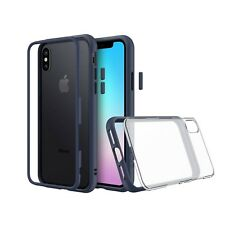Brand New Rhinoshield Slim Modular MOD Case for iPhone X — Dark Blue