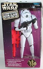 """13"""" STAR WARS STORMTROOPER ROOM ALARM W/Laser Target  Game Action figure 1997"""