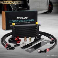 19 Row An10 Bolt On Oil Cooler Kit For Subaru Impreza Wrx Sti 2001-2005 01 02