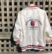 Vintage 80's satin baseball jacket