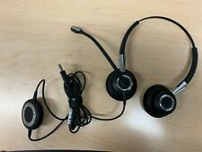 Jabra BIZ 2400 USB UC Duo Corded Headset for Softphone and Mobile Phone VoIP