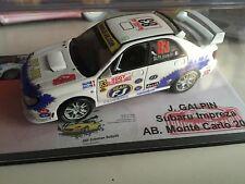 Decal 1 43 SUBARU IMPREZA N°87 Rally WRC monte carlo 2007 montecarlo