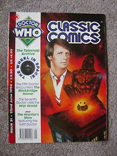 'Doctor Who - Classic Comics' Issue 21 - TV Action/TV Comic Reprints - Marvel