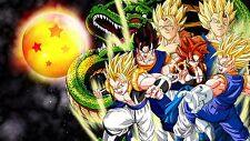 Poster 42x24 cm Dragon Ball Goku Saiyan Shelong 03