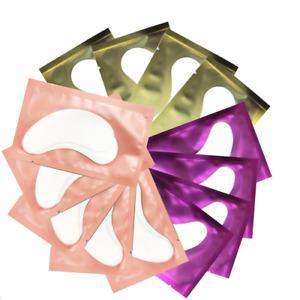 100 💎 Salon Eyelash Extension Under Gel Eye Pads Lint Free Patches MakeUp Tools