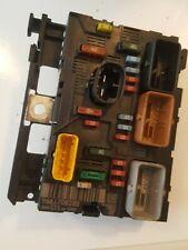 PEUGEOT 207 UNDER BONNET FUSE BOX / BSM MODULE 9661708280