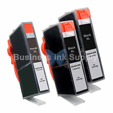 3 COMBO 564XL 564XL GENERIC W/CHIP HIGH YIELD + INK LEVEL 564XL for HP Printers