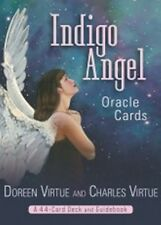 Indigo Angel Oracle Cards by Doreen Virtue & Charles Virtue New & Sealed