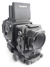 Fuji GX 680 III camera, GX M 135mm/5.6 lens, IIIN Rollfilm holder (w/220 insert)