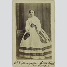 Marie Prinzessin Von Sachsen Weimar Eisenach CDV Um 1865 B