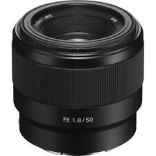Sony FE 50mm f/1.8 - Monte Lente E