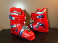 Salomon Performa T3 Ski Boots Downhill Alpine Red Size 26.0 Men's 8 Very Clean!