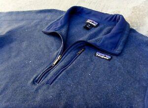 PATAGONIA Better Sweater full zip Fleece Jacket Men's XXL Navy