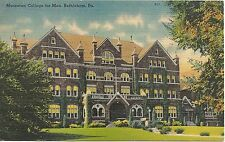 Moravian College For Men in Bethlehem PA Postcard 1950