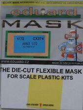 Eduard 1/72 CX374 Canopy Mask for the Tamiya A6M3 Hamp (Zero) kit