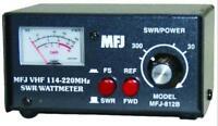 MFJ-812B VHF (144-220MHz) SWR/Wattmeter, Selectable for 30 or 300W
