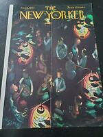 New Yorker COVER ONLY Aug 4 1962 Donald Higgins Outdoor Cocktail Party VINTAGE