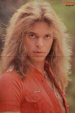 DAVID LEE ROTH - A3 Poster (42 x 28 cm) - Van Halen Clippings Fan Sammlung NEU