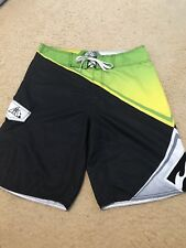 BILLABONG-ANDY IRONS FOREVER-AIRLITE STRETCH 32 MULTI COLORED BOARD SHORTS