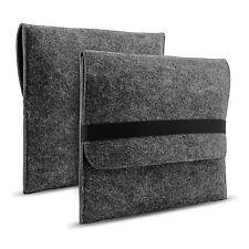 Notebook Tasche 13,3 Zoll Universal Sleeve Filz Laptop Tasche Case Dunkel Grau