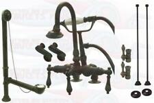 Adjustable DeckMount Oil Rubbed Bronze Clawfoot Tub Faucet  CCK13T5 Modified