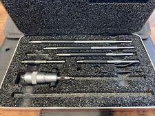 Starrett 124az Solid Rod Inside Micrometer Set 2 8 Range 001 Graduation