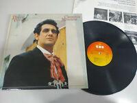 """PLACIDO DOMINGO canciones Mexikanische 1982 Edicion España - LP vinyl 12 """" VG/VG"""