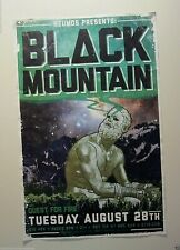 Black Mountain 2012 Original Concert Poster Canadian psychedelic rock band