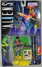 ALIENS Space Marine LT. Ripley with Turbo Torch & Comic Book MOC Kenner 1992