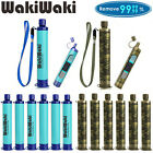 1-6 Pack Portable Survival Water Filter Straw Purifier Camping Emergency Gear photo