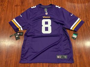Nike Men's Kirk Cousins Minnesota Vikings Game Version Jersey Extra Large XL NFL