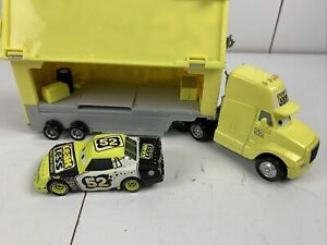 Disney Pixar Cars Leak Less #52 Die cast Semi-truck Hauler.