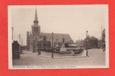 MONTDIDIER - La statue Parmentier et l'église St Pierre   (J6128)