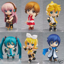 Vocaloid Miku Hatsune anime Rin Luka set of 6 pcs Figures Dolls Girl's Gift