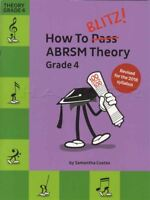 How To Blitz ABRSM Theory Grade 4 Revised Sheet Music Book Tests Exams 2018