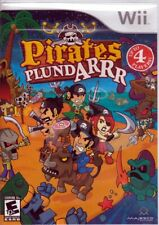 PIRATES PlundARR (Nintendo Wii Game) FREE US SHIPPING