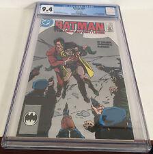 Batman 410 DC Comic 1987 3rd Print CGC 9.4 Two Face Jason Todd