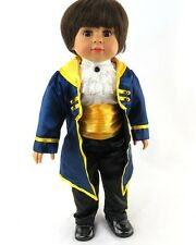 "18"" Boy Doll Outfit Beauty and the Beast Costume for 18"" Boy Doll"